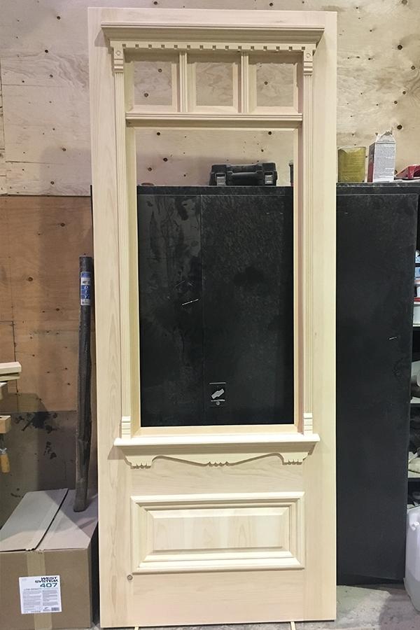 7 St Thomas Street Doorway Frame Carpentry