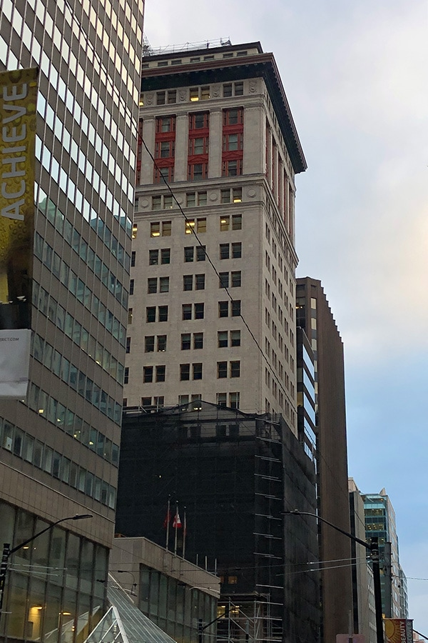 8 King Street Masonry Restoration Work Full Building View