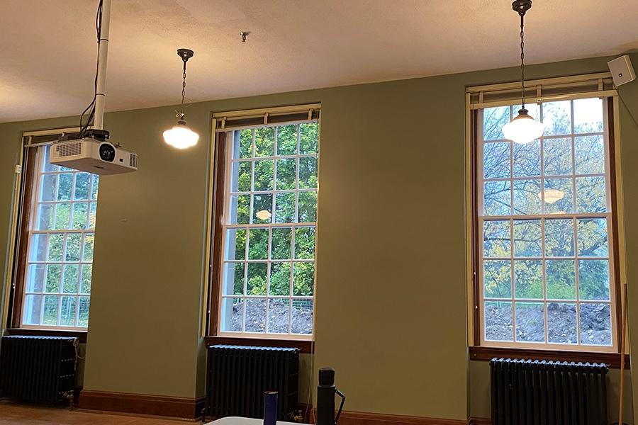 David Dunlop Observatory Window Restoration