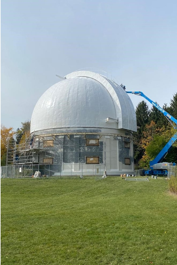 David Dunlop Observatory Full Building Restoration View