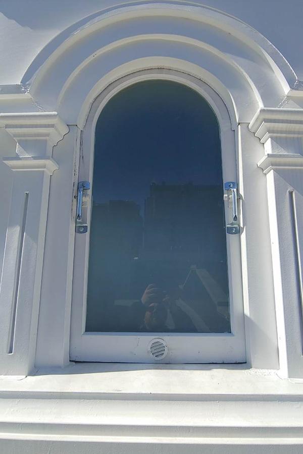 Holy Trinity Russian Orthodox Church Front Entrance Masonry Restoration