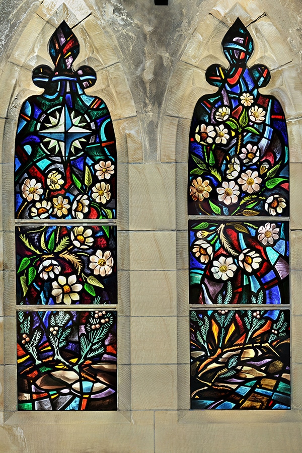 Detailed Window Restoration House of Commons Chamber