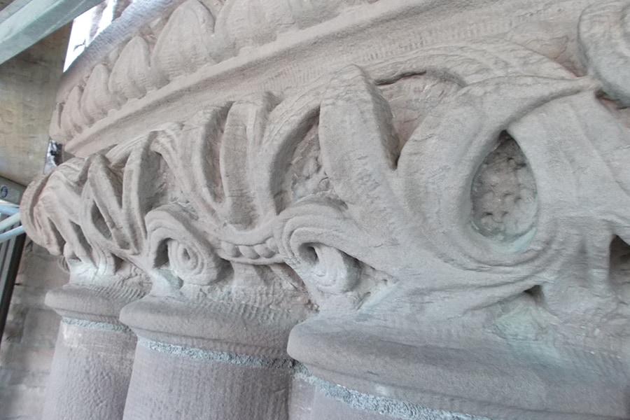Ontario Legislative Building Masonry Details Close Up right Side