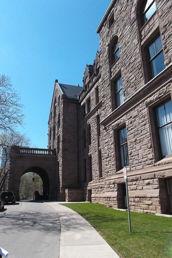 Ontario Legislative Building masonry Work and Restoration