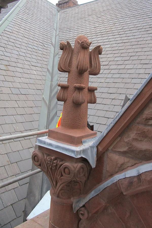 Ontario Legislative Building Masonry Work Details
