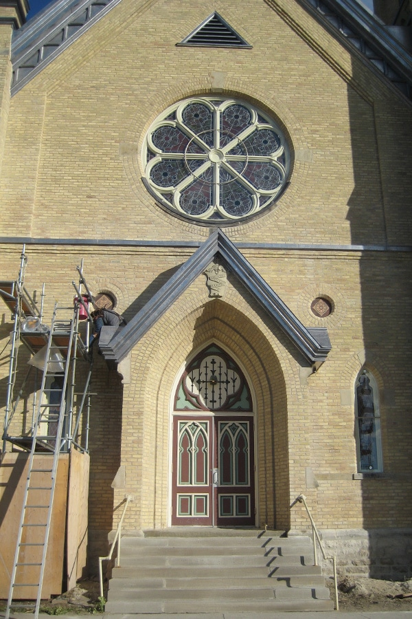 Our Lady of Mercy Church Front Entranceway Rehabilitation and Restoration Project