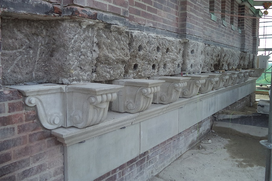 St Augistine's Seminary Masonry Restoration work