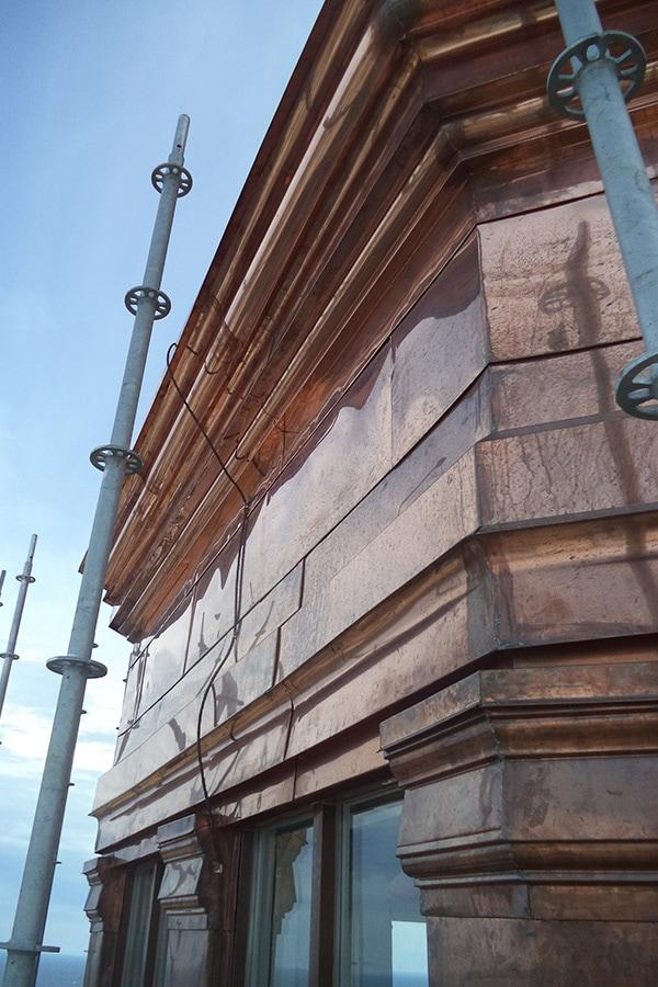 St Augistine's Seminary Masonry Restoration of Building Structure Side