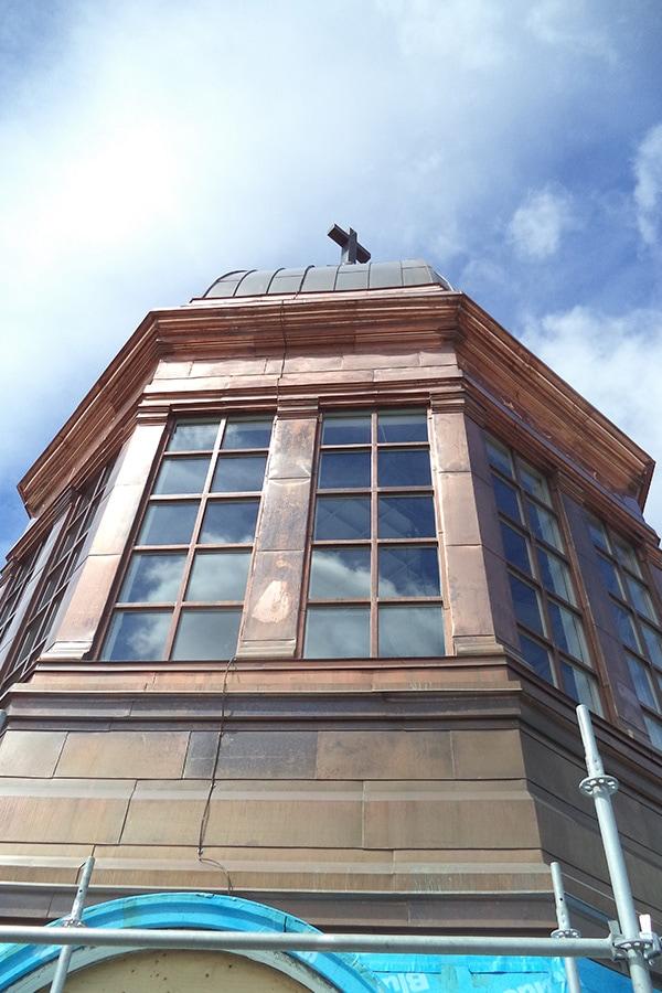 St Augistine's Seminary Restoration of Dome and surrounding windows