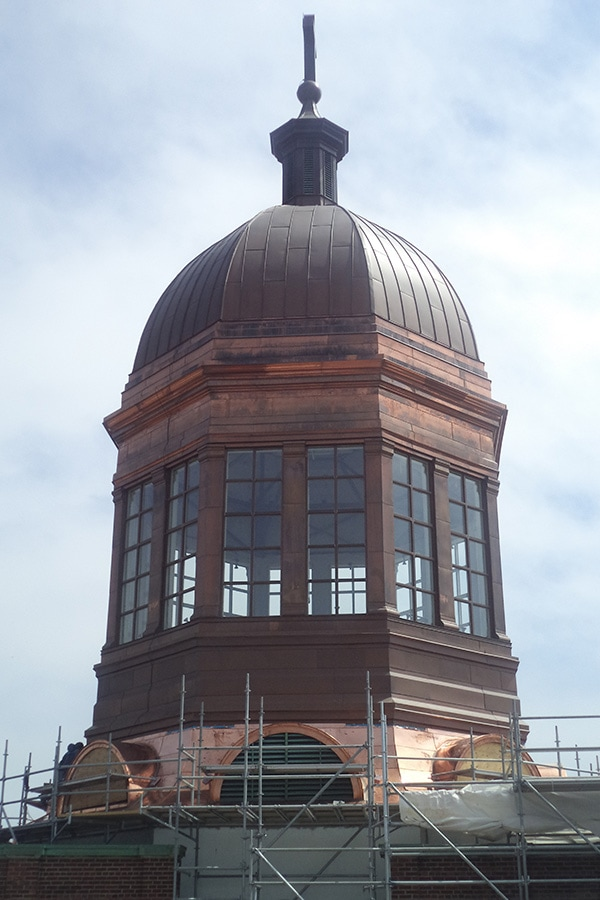 St Augistine's Seminary Restoration of Top Building Dome