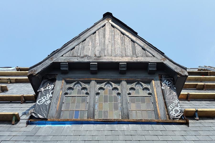 St Brigids Church Masonry Restoration and building condition assessment