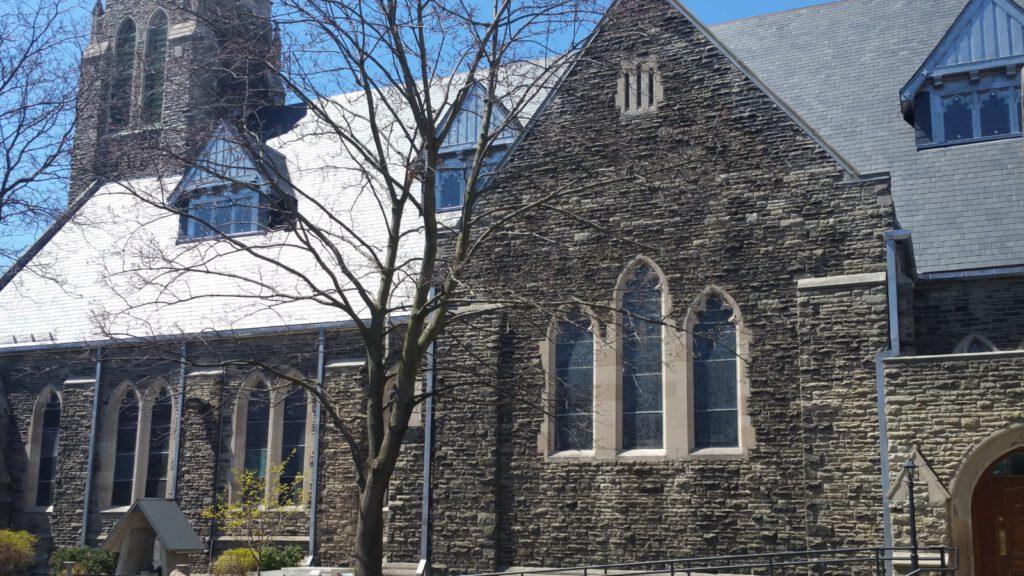 st brigids church toronto ontario banner