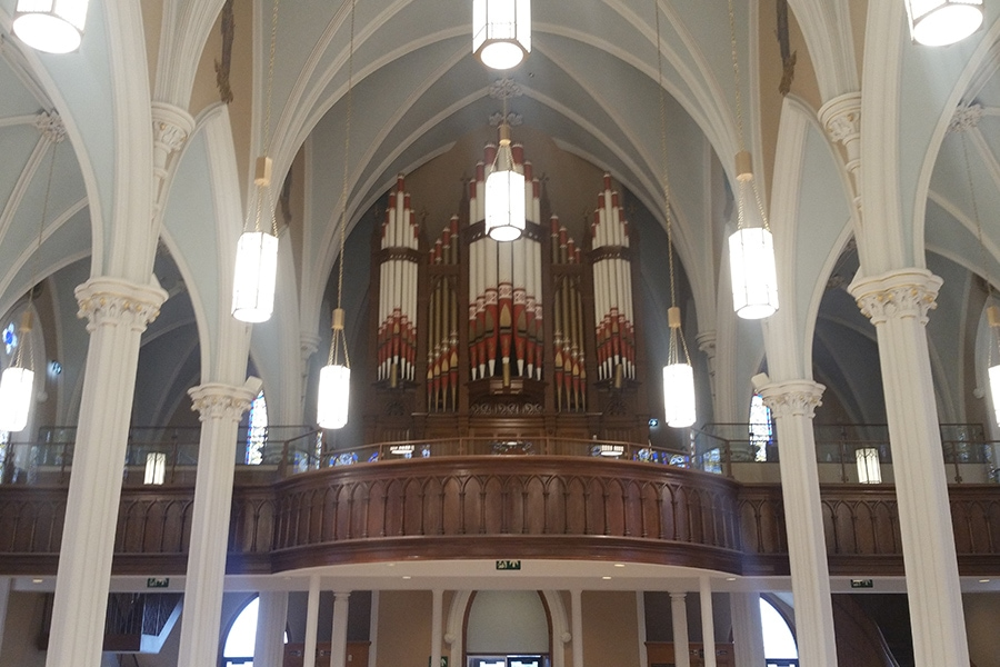 St. Joseph's Roman Catholic Church Interior Renovation and Lighting