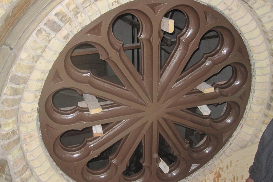 St. Joseph's Roman Catholic Church wood window restoration