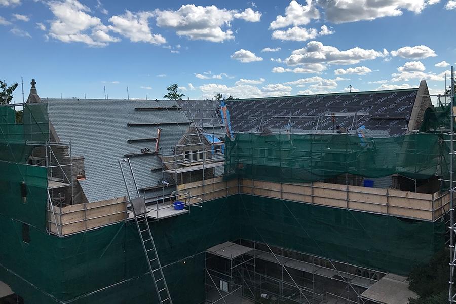 St. Peter's Slate Roofing Restoration Process