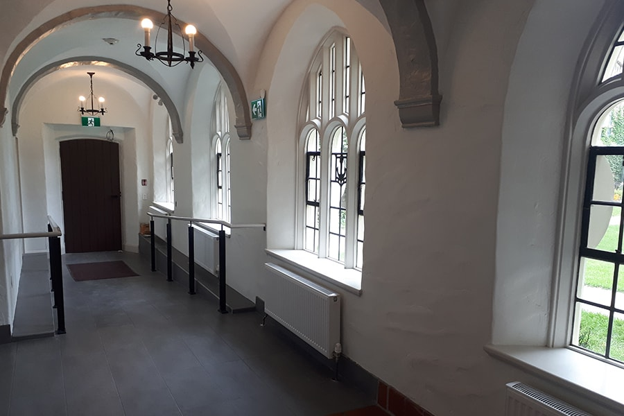 St. Peter's Interior Restoration and stone replacements