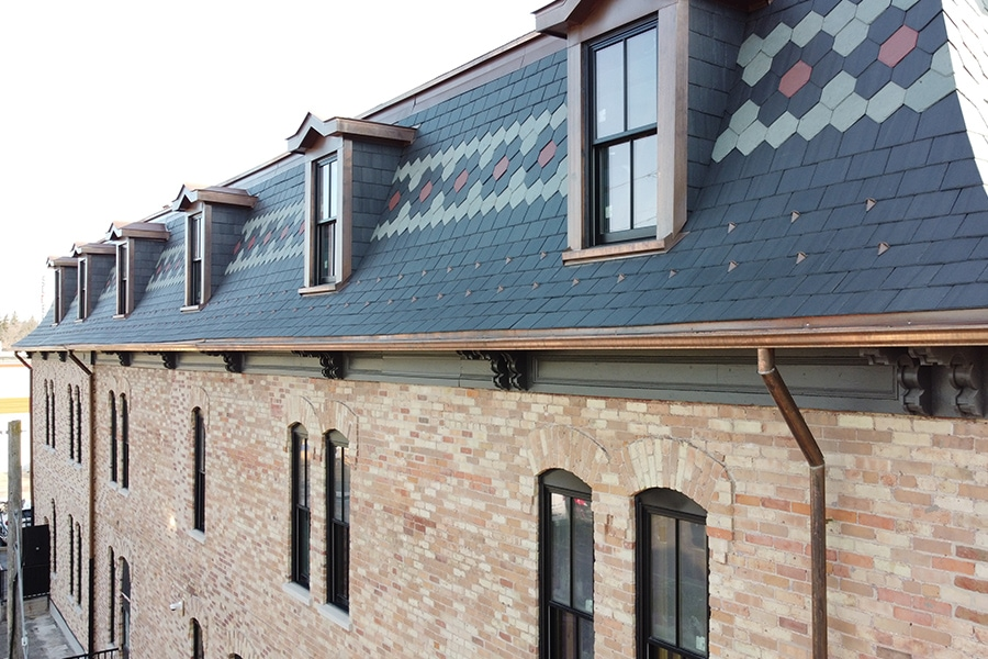 Stouffville Junction Roofing Replacement and Restoration Right Side View