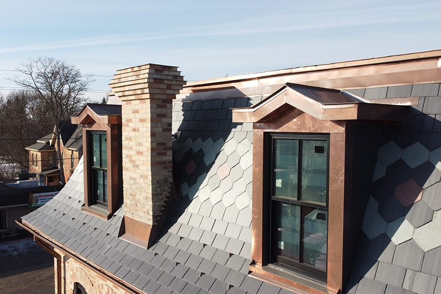 Stouffville Junction Roofing Replacement and Restoration Residential Roofing with Windows
